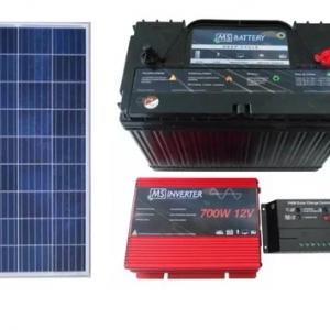 Kit Solar Rural